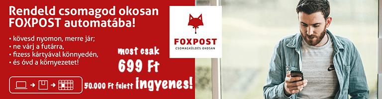 Foxpost banner